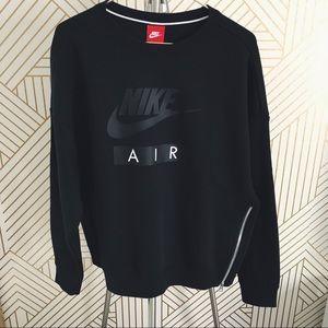 Nike Air Side Zip Baggy Sweatshirt NWT